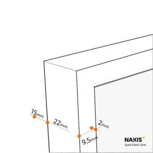 detail naxis infraroodpaneel basic line