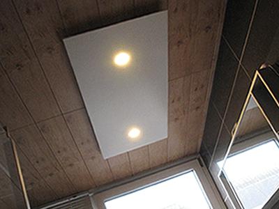 badkamerverwarming stralingspaneel