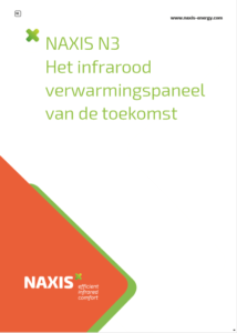 brochure infrarood verwarmings paneel type naxis n3