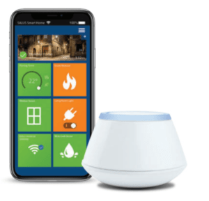 smart home app en gateway infraroodsysteem besturing