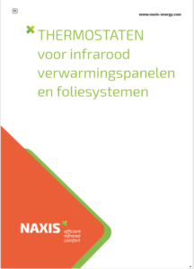 brochure thermostaat voor infraroodsystemen