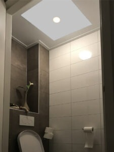 infrarood paneel toilet inclusief verlichting
